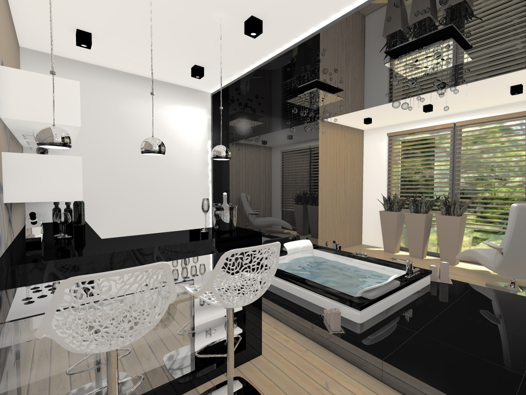 projekt spa w domu